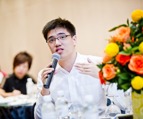 Desmond Goh, accountancy student at Singapore Institute of Management - University Of London.