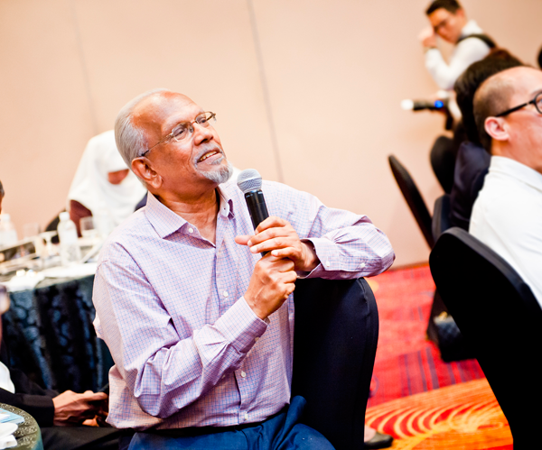 R Ramachandran, Executive Director, National Book Development Council of Singapore